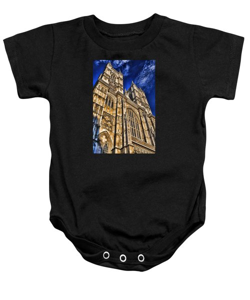Westminster Abbey West Front Baby Onesie by Stephen Stookey