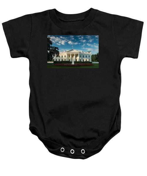 White House Sunrise Baby Onesie by Steve Gadomski