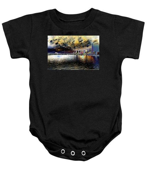 City Of Color Baby Onesie by Douglas Barnard