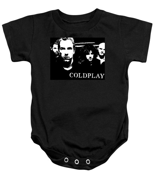 Coldplay Baby Onesie by Paula Sharlea