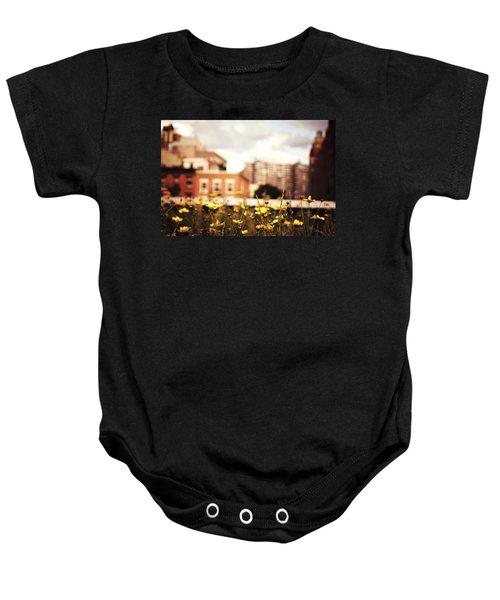 Flowers - High Line Park - New York City Baby Onesie by Vivienne Gucwa