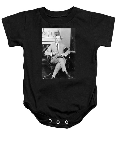 President Calvin Coolidge Baby Onesie by International  Images