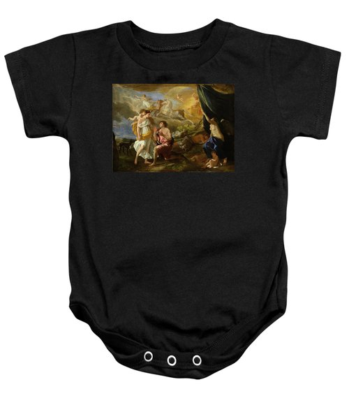 Selene And Endymion Baby Onesie by Nicolas Poussin