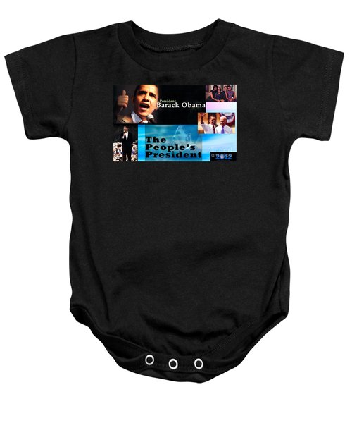 The People's President Baby Onesie by Terry Wallace