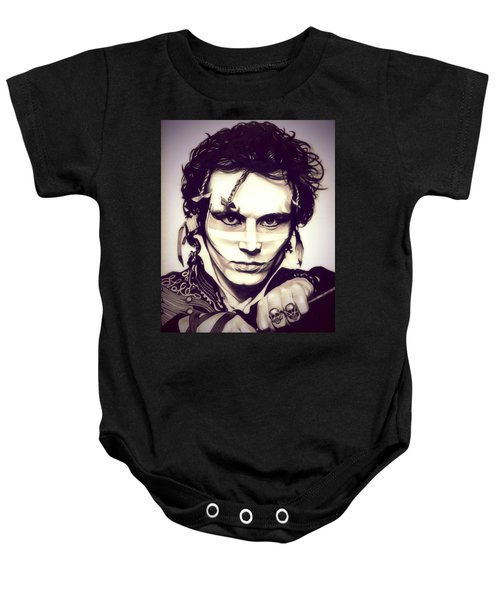 Adam Ant Baby Onesie by Fred Larucci