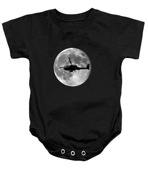 Apache Moon .png Baby Onesie by Al Powell Photography USA