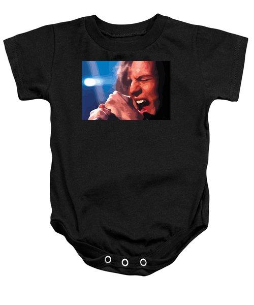 Eddie Vedder Baby Onesie by Gordon Dean II