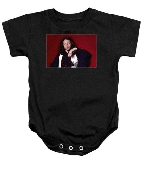 Ezra Miller Poster Baby Onesie by Best Actors