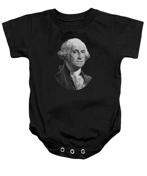 George Washington  Baby Onesie by War Is Hell Store