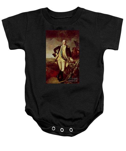 Portrait Of George Washington Baby Onesie by Charles Willson Peale