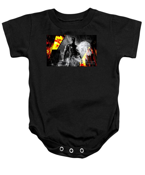 Daredevil Collection Baby Onesie by Marvin Blaine