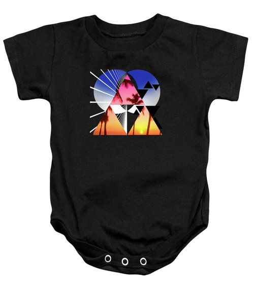 Abstract Space 5 Baby Onesie by Russell K