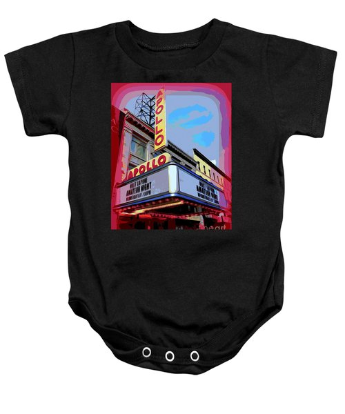 Amateur Night At The Apollo Baby Onesie by Ed Weidman