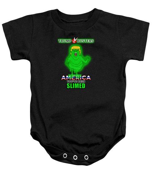 America, You've Been Slimed Baby Onesie by Sean Corcoran