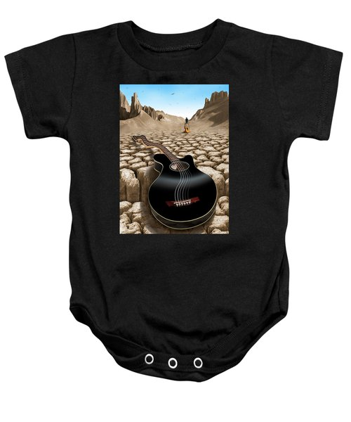 An Acoustic Nightmare 2 Baby Onesie by Mike McGlothlen