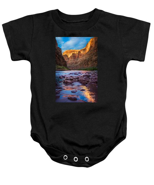 Ancient Shore Baby Onesie by Inge Johnsson