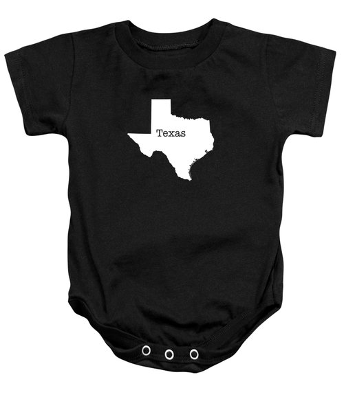 Texas State Baby Onesie by Bruce Stanfield