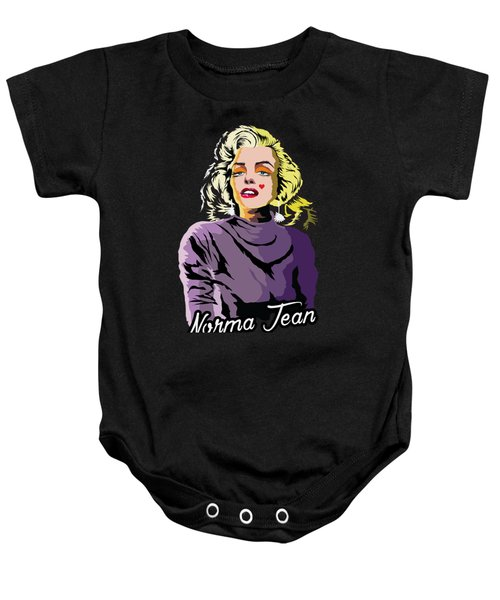 The Timeless Norma Jean Baby Onesie by Anthony Mwangi