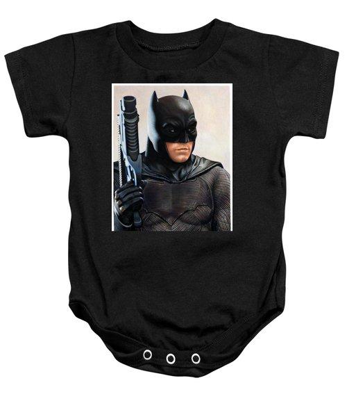 Batman 2 Baby Onesie by David Dias