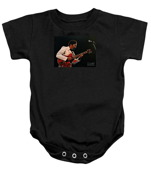 B. B. King Baby Onesie by Paul Meijering