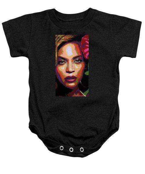 Beyonce Baby Onesie by Maria Arango
