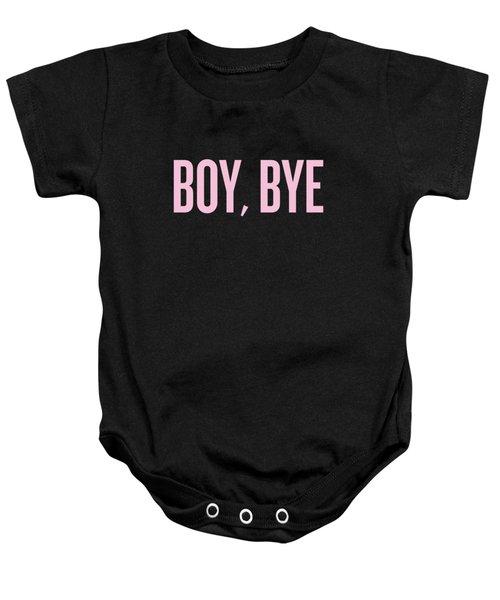 Boy, Bye Baby Onesie by Randi Fayat