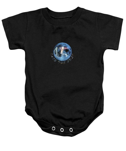 City Lights Baby Onesie by Valerie Anne Kelly