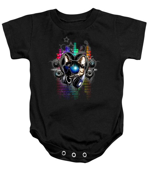 Drop The Bass Baby Onesie by Nicklas Gustafsson