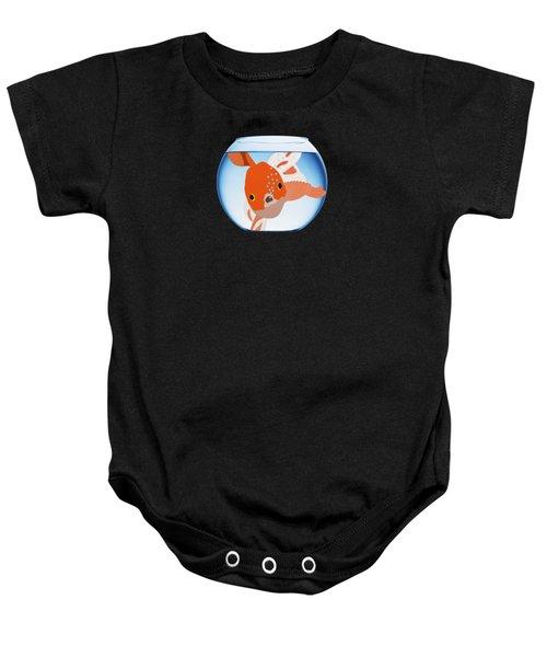 Fishbowl Baby Onesie by Priscilla Wolfe
