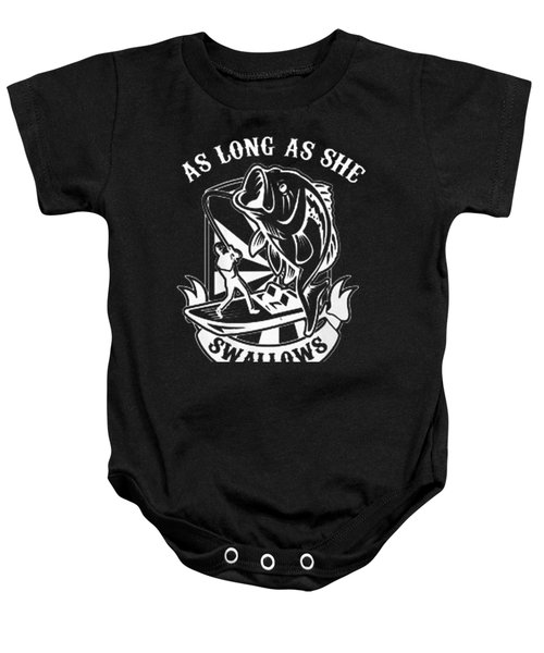 Fishing Baby Onesie by Thucidol