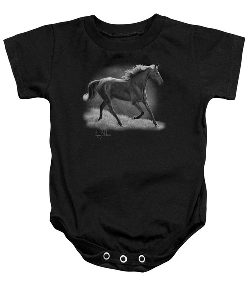 Free - Black And White Baby Onesie by Lucie Bilodeau