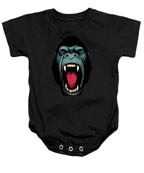 Gorilla Face Baby Onesie by John D'Amelio