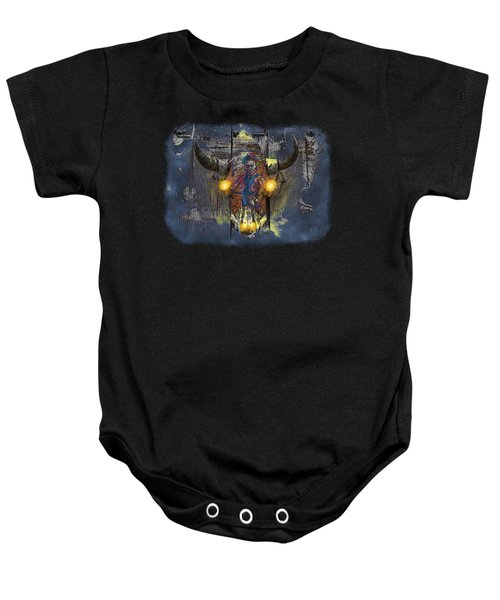 Halloween Shirt And Accessories Baby Onesie by John M Bailey