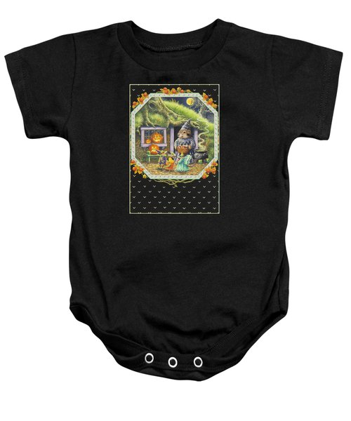 Halloween Treats Baby Onesie by Lynn Bywaters