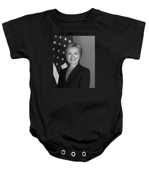 Hillary Clinton Baby Onesie by War Is Hell Store