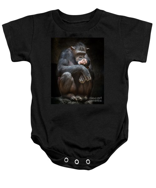 Kiss From Mom Baby Onesie by Jamie Pham