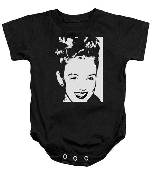Marilyn Baby Onesie by Joann Vitali