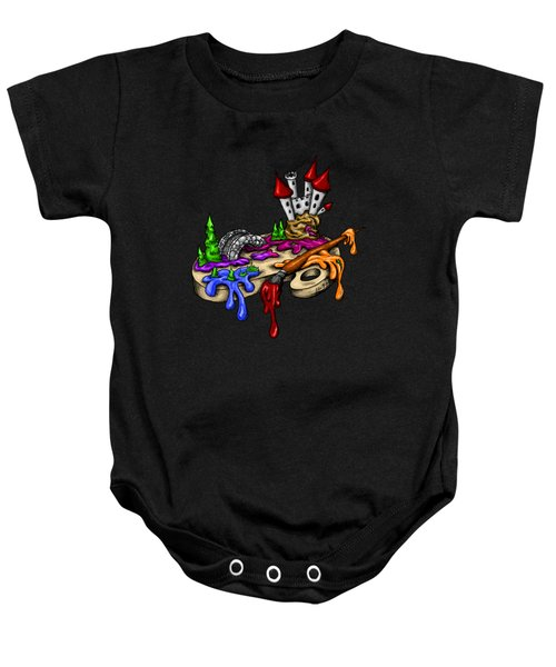 My Color Palette Baby Onesie by Alexandra Franzese