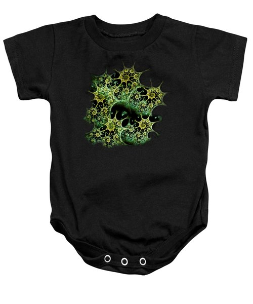 Night Lace Baby Onesie by Anastasiya Malakhova