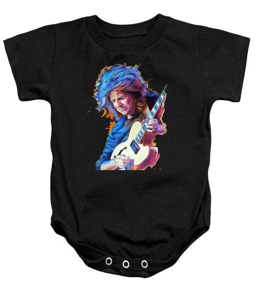 Pat Metheny Baby Onesie by Melanie D