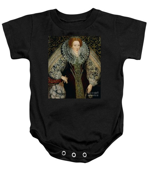Queen Elizabeth I Baby Onesie by John the Younger Bettes