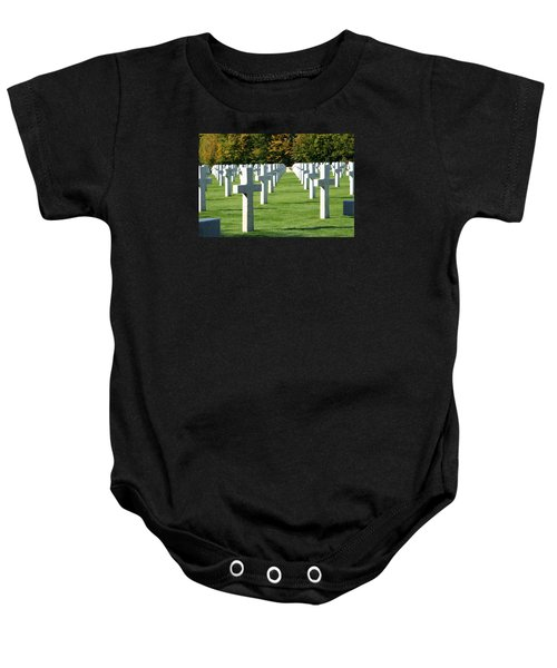 Baby Onesie featuring the photograph Saint Mihiel American Cemetery by Travel Pics