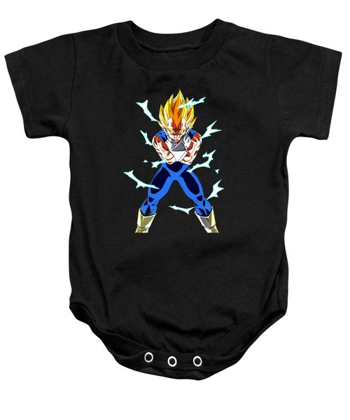 Saiyan Warriors Baby Onesie by Opoble Opoble