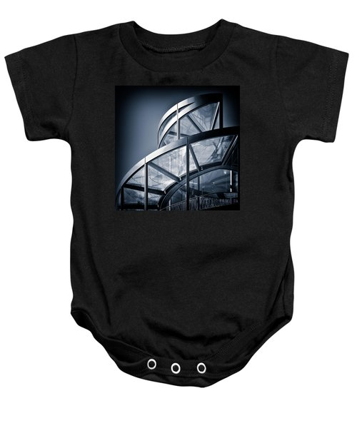 Spiral Staircase Baby Onesie by Dave Bowman