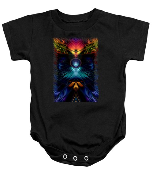 Stargatez Symmetrical Abstract Baby Onesie by Sharon and Renee Lozen