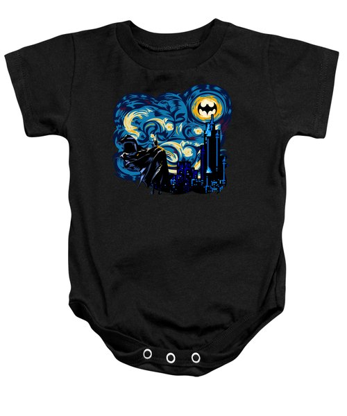 Starry Knight Baby Onesie by Three Second