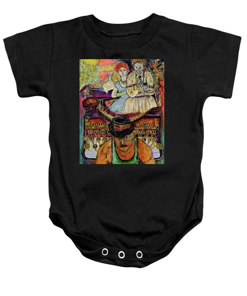 Strife  Baby Onesie by Lindsay Strubbe