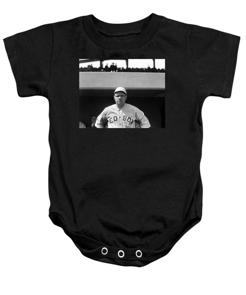 The Babe - Red Sox Baby Onesie by International  Images