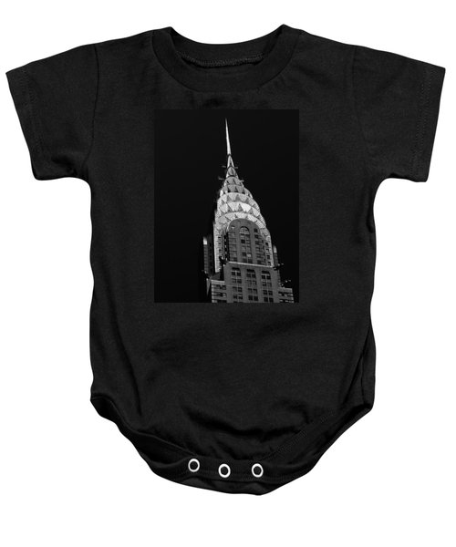 The Chrysler Building Baby Onesie by Vivienne Gucwa