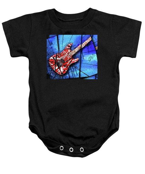 The Frankenstrat Vii Cropped Baby Onesie by Gary Bodnar